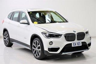 2018 BMW X1 F48 xDrive25i Steptronic AWD White 8 Speed Sports Automatic Wagon