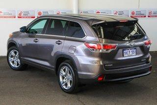 2016 Toyota Kluger GSU50R Grande (4x2) Predawn Grey 6 Speed Automatic Wagon.