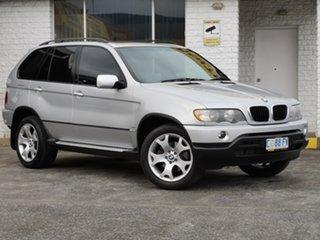 2003 BMW X5 E53 Steptronic Silver 5 Speed Sports Automatic Wagon.