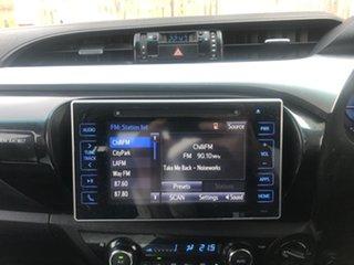 2017 Toyota Hilux GUN126R SR5 Double Cab Blue 6 Speed Sports Automatic Utility