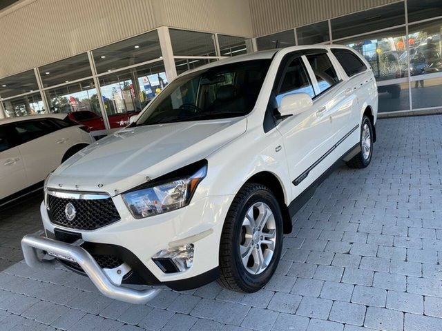 Used Ssangyong Actyon Sports SPR Taree, 2012 Ssangyong Actyon Sports SPR White Sports Automatic Dual Cab Utility