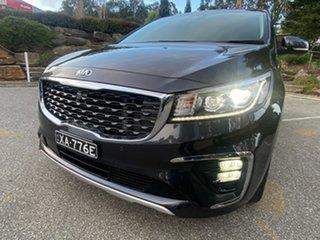 2019 Kia Carnival YP MY20 Platinum Panthera Metal/beige 8 Speed Sports Automatic Wagon.