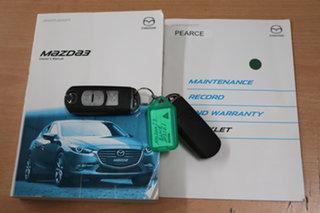 2017 Mazda 3 BN5278 Touring SKYACTIV-Drive Black 6 Speed Sports Automatic Sedan