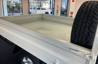2021 Toyota Landcruiser VDJ79R GXL White 5 Speed Manual Cab Chassis