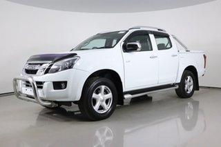 2014 Isuzu D-MAX TF MY14 LS-Terrain HI-Ride (4x4) White 5 Speed Automatic Crew Cab Utility.