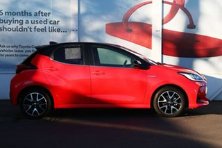 2020 Toyota Yaris Mxph10R ZR Hybrid Coral Rose - Black Roof 1 Speed Constant Variable Hatchback