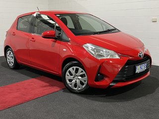 2017 Toyota Yaris NCP131R SX Red 4 Speed Automatic Hatchback.