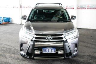 2017 Toyota Kluger GSU55R GXL AWD Predawn Grey 8 Speed Sports Automatic Wagon.