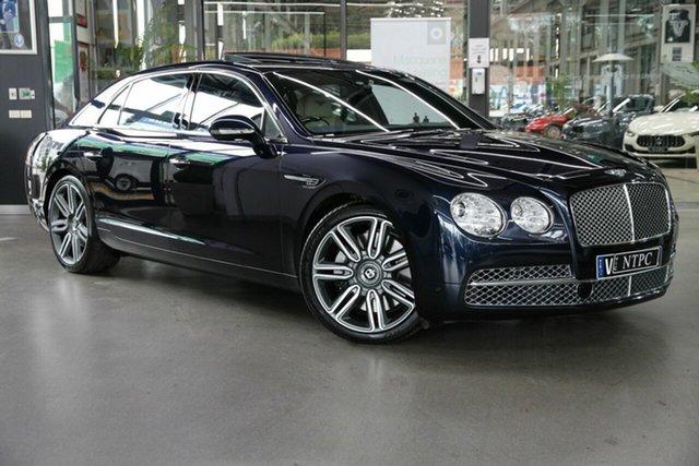 Used Bentley Flying Spur 3W MY16 AWD North Melbourne, 2016 Bentley Flying Spur 3W MY16 AWD Blue 8 Speed Sports Automatic Sedan