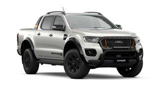 2021 Ford Ranger PX MkIII 2021.25MY Wildtrak Alabaster White 6 Speed Sports Automatic