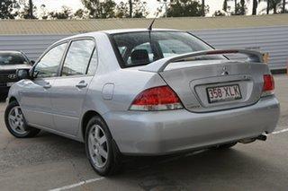 2006 Mitsubishi Lancer CH MY07 ES Cool Silver 4 Speed Sports Automatic Sedan.