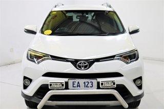 2017 Toyota RAV4 ALA49R GXL AWD White 6 Speed Sports Automatic Wagon.