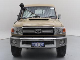2021 Toyota Landcruiser 70 Series VDJ78R GXL Troop Carrier Sandy Taupe 5 Speed Manual Wagon.