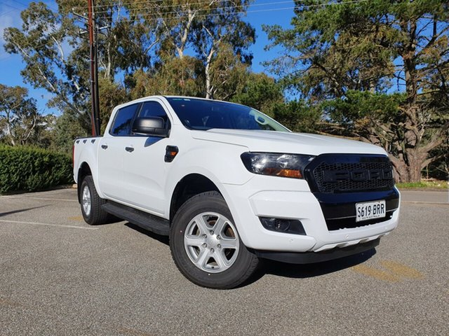 Used Ford Ranger PX MkII XL Totness, 2017 Ford Ranger PX MkII XL Frozen White 6 Speed Sports Automatic Utility