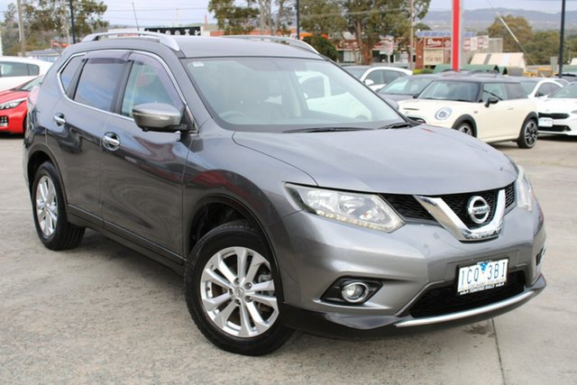 Used Nissan X-Trail T32 ST-L X-tronic 2WD Ferntree Gully, 2014 Nissan X-Trail T32 ST-L X-tronic 2WD Grey 7 Speed Constant Variable Wagon