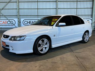 2002 Holden Commodore VY SS White 4 Speed Automatic Sedan.