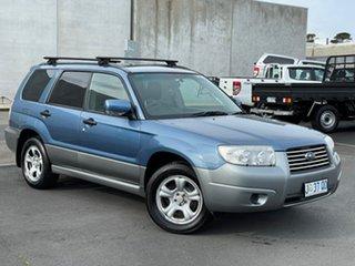 2007 Subaru Forester 79V MY07 X AWD Blue 4 Speed Automatic Wagon.