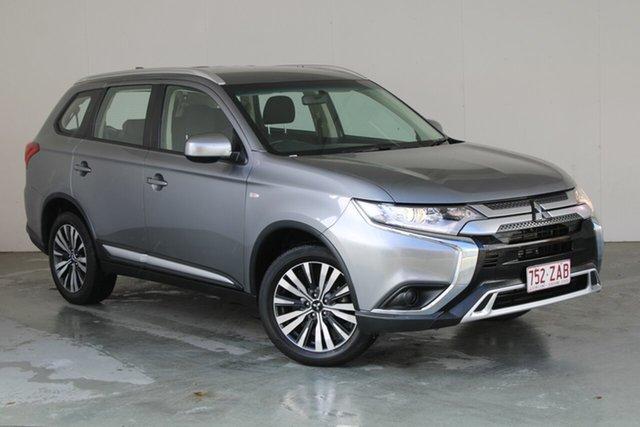 Used Mitsubishi Outlander ZL MY19 ES 2WD Phillip, 2019 Mitsubishi Outlander ZL MY19 ES 2WD Grey 6 Speed Constant Variable Wagon