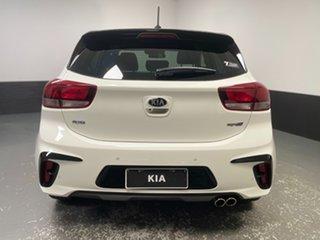 2020 Kia Rio YB MY20 GT-Line DCT White 7 Speed Sports Automatic Dual Clutch Hatchback