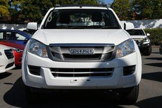 2015 Isuzu D-MAX MY15 SX Crew Cab 4x2 High Ride White 5 Speed Sports Automatic Utility.
