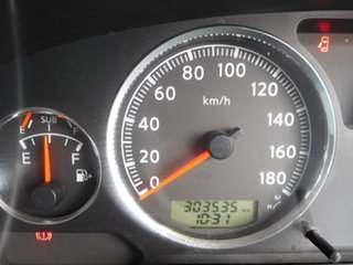 2013 Nissan Patrol Y61 GU 8 ST Silver 5 Speed Manual Wagon