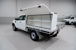 2015 Ford Ranger PX MkII XL Hi-Rider White 6 Speed Sports Automatic Cab Chassis