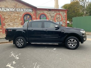 2018 Ford Ranger PX MkII 2018.00MY Wildtrak Double Cab Black 6 Speed Sports Automatic Utility.