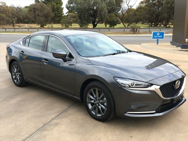 Demo Mazda 6 GL1033 Touring SKYACTIV-Drive Berri, 2021 Mazda 6 GL1033 Touring SKYACTIV-Drive Machine Grey 6 Speed Sports Automatic Sedan