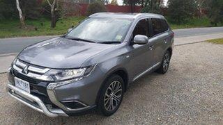 2018 Mitsubishi Outlander ZL MY19 ES 2WD Grey 6 Speed Constant Variable Wagon.