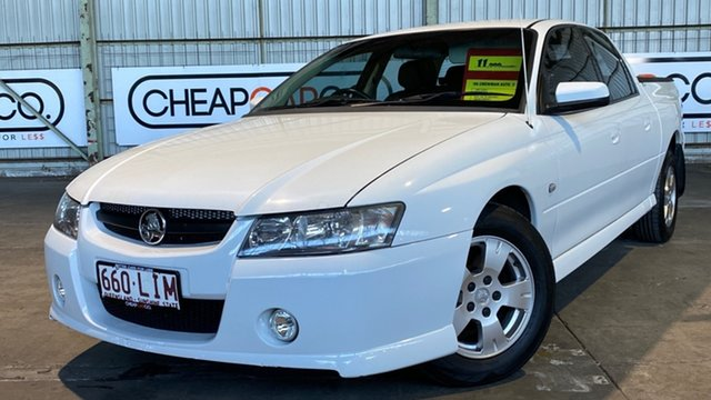 Used Holden Crewman VZ MY06 S Rocklea, 2006 Holden Crewman VZ MY06 S White 4 Speed Automatic Utility
