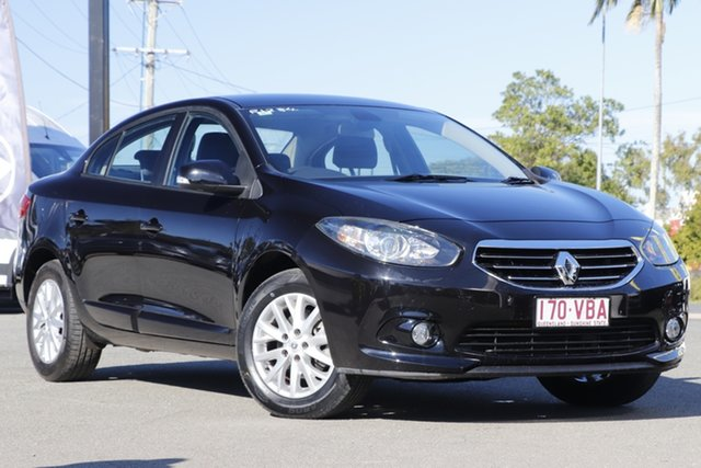 Used Renault Fluence L38 Phase 2 Dynamique Rocklea, 2013 Renault Fluence L38 Phase 2 Dynamique Black Metallic 6 Speed Constant Variable Sedan