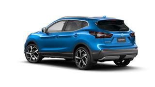 2021 Nissan Qashqai J11 Series 3 MY20 Ti X-tronic Vivid Blue 1 Speed Constant Variable Wagon