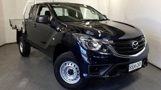 2018 Mazda BT-50 UR0YG1 XT Freestyle 4x2 Hi-Rider Black 6 Speed Sports Automatic Cab Chassis.