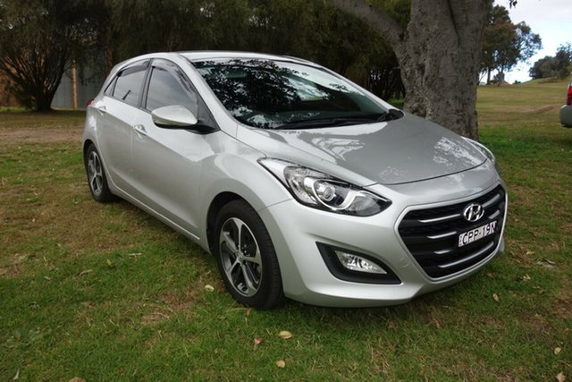 Used Hyundai i30 GD3 Series II MY16 Active X East Maitland, 2015 Hyundai i30 GD3 Series II MY16 Active X Silver 6 Speed Sports Automatic Hatchback