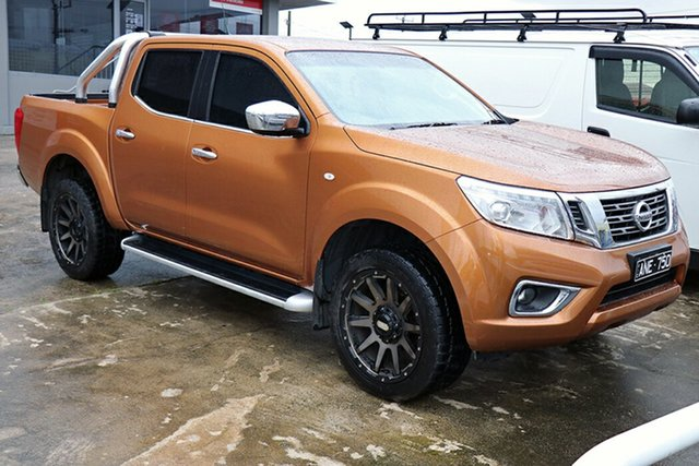 Pre-Owned Nissan Navara D23 ST Preston, 2016 Nissan Navara D23 ST Hornet Gold 7 Speed Sports Automatic Utility