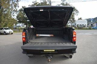 2018 Chevrolet Silverado C/K25 2500HD Pickup Crew Cab LTZ Midnight Edition Black 6 Speed Automatic