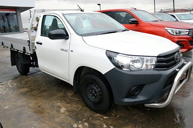 Pre-Owned Toyota Hilux TGN121R Workmate 4x2 Preston, 2020 Toyota Hilux TGN121R Workmate 4x2 White 6 Speed Sports Automatic Cab Chassis