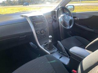 2009 Toyota Corolla ZRE152R Ascent Grey 6 Speed Manual Sedan