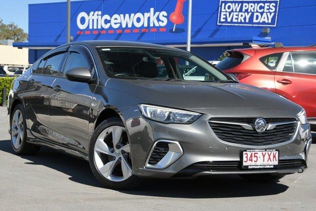 Used Holden Commodore ZB MY18 RS-V Liftback AWD Aspley, 2018 Holden Commodore ZB MY18 RS-V Liftback AWD Grey 9 Speed Sports Automatic Liftback