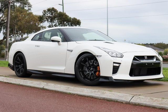 New Nissan GT-R R35 MY20 Track Edition DCT AWD Wangara, 2021 Nissan GT-R R35 MY20 Track Edition DCT AWD Ivory Pearl 6 Speed Sports Automatic Dual Clutch
