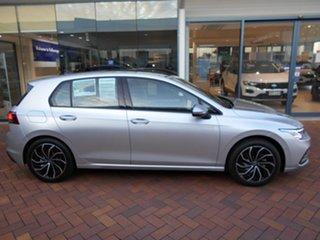 2021 Volkswagen Golf 8 MY21 110TSI Life Reflex Silver 8 Speed Sports Automatic Hatchback.