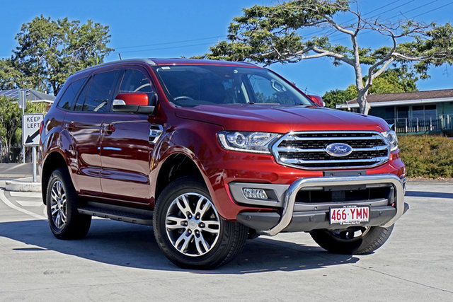 Used Ford Everest UA II 2019.00MY Trend Capalaba, 2018 Ford Everest UA II 2019.00MY Trend Sunset/ebo 10 Speed Sports Automatic SUV