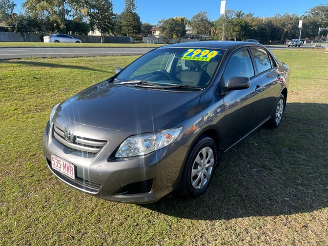 Used Toyota Corolla ZRE152R Ascent Clontarf, 2009 Toyota Corolla ZRE152R Ascent Grey 6 Speed Manual Sedan