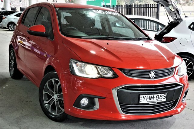 Used Holden Barina TM MY17 LS Phillip, 2017 Holden Barina TM MY17 LS Red 6 Speed Automatic Hatchback