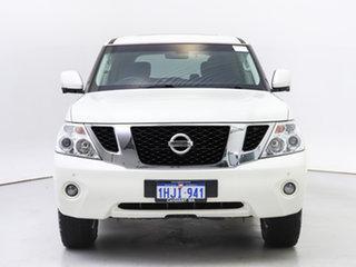 2016 Nissan Patrol Y62 Series 2 TI (4x4) White 7 Speed Automatic Wagon.