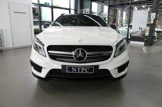 2015 Mercedes-Benz GLA-Class X156 806MY GLA45 AMG SPEEDSHIFT DCT 4MATIC White 7 Speed