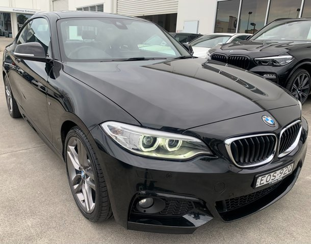 Used BMW 2 Series F22 230i M Sport Newcastle West, 2017 BMW 2 Series F22 230i M Sport Black Sapphire 8 Speed Sports Automatic Coupe