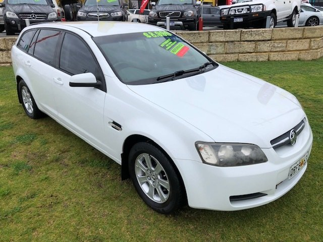 Used Holden Commodore VE MY09 Omega Sportwagon Wangara, 2008 Holden Commodore VE MY09 Omega Sportwagon White 4 Speed Automatic Wagon
