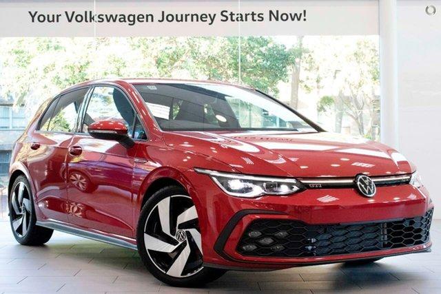 New Volkswagen Golf 8 MY21 GTI DSG Botany, 2021 Volkswagen Golf 8 MY21 GTI DSG Red 7 Speed Sports Automatic Dual Clutch Hatchback