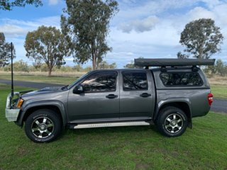 2009 Holden Colorado RC MY09 LX Crew Cab Royal Grey 4 Speed Automatic Utility